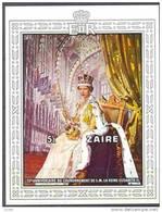 Zaire 1978  Bloc Nr 28 *** MNH Cote 12 Euro Reine Elisabeth II - Zaïre