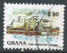 Ghana. 1991 Definitives. 80c Used. SG 1642 - Ghana (1957-...)