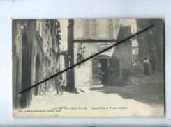 CPA Abîmée - 29 - Le Vieux Tulle - Rues Riches Et Portes Chanac - Tulle