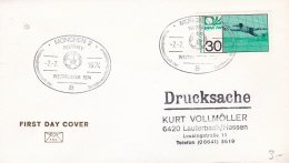 Germany Cover 1974 World Cup FIFA Football - Germany Winner München (T17-30) - Coppa Del Mondo