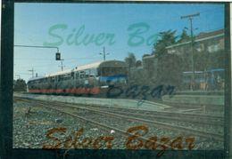 TRENI- FERROVIA CANAVESANA TORINO-PONT-CASTELLAMONTE - AUTOMOTRICE D.51-LOCOMOTIVA 880.045 - Eisenbahnen