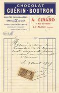 72. Le Mans. A. Girard. Chocolat Guérin-Boutron -   - VR_C2_30 - France