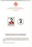 2015 BICENTENARIO NASCITA DON BOSCO - S.O.M.O. MALTA - FOLLETO BROCHURE - Malta (la Orden De)