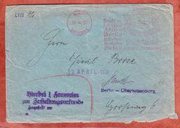 Zustellurkunde, Absenderfreistempel Besucht Ausstellung Altes Berlin Charlottenburg 1930 (40756) - Deutschland