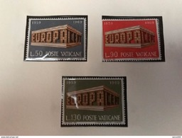 Vatican City Europa Mnh 1969 - Unused Stamps