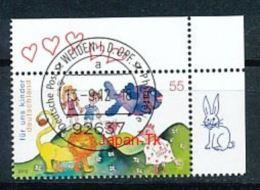 GERMANY Mi. Nr. 2952  Für Uns Kinder -Eckrand Oben Rechts - Used - BRD