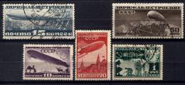 Russia 1931 Unif. A22/26 Usati/Used VF - Usati