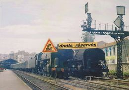 Locos 141 R Et Leurs Trains, En Gare De Cannes (06) - - Cannes