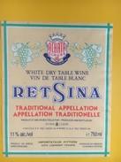4883 - Retsina Grèce Importateur Pitters 33310 Lormont - Autres