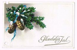 Glædelig Jul - Timbre - Denmark - 1919 - Noël