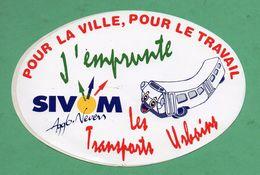 SIVOM NEVERS TRANSPORTS URBAINS / AUTOCOLLANT - Autocollants