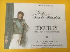 4892 - Comte Jean De Bernadot Brouilly - Beaujolais