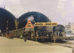 Locos 141 R Et BB 67000, En Gare De Nice-Ville (06) - Treinverkeer - Station