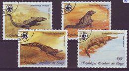 CONGO 1063-1066,used,fauna - Oblitérés