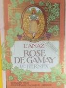 4906 -  L'Anaz 1990 Rosé De Gamay De Bernex Gnève Suisse Bernard Cruz - Etiquettes
