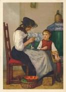 SUISSE : Illustration Grossmutter Und Enkelin Par Albert Anker (1953) - Autres