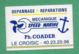 SPEED MARINE LE CROISIC - MECANIQUE DEPANNAGE REPARATION / AUTOCOLLANT - Autocollants