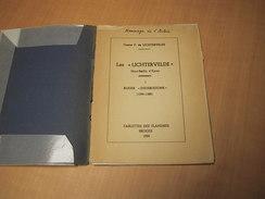 Ieper - Ypres / Ieper - Ypres. Les Lichtervelde Haut-Baillis D' Ypres, Tablettes Des Flandres - Libros, Revistas, Cómics