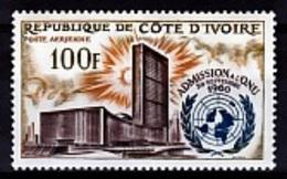 Ivory Coast, United Nations, 1962, MNH VF Airmail - Ivory Coast (1960-...)
