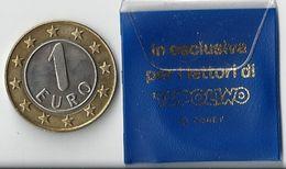 Walt Disney 199? Il Mio Pimo Euro - TOPOLINO - Simil Euro - Ed. Cassol - Confezione Originale - (3 Foto) - Varietà E Curiosità