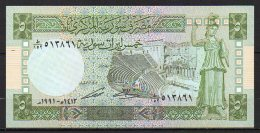 518-Syrie Billet De 5 Pounds 1991 - Syrie