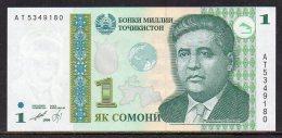 529-Tajikistan Billet De 1 Somoni 1999 AT534 Neuf - Tadjikistan