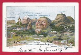 CPA Wangenbourg Engenthal - Souvenir De Wangenbourg - Francia
