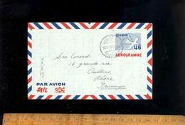 JAPON : Lettre Aérogramme Par Avion 1954 + Air Letter 1951 Japan Airmail - Airmail