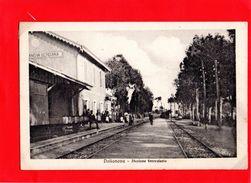 AP454 STAZIONE DOLIANOVA - CAGLIARI FP NV EPOCA 1920/25 RARA !! PERFETTA - Cagliari
