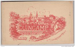Carnet De 12 Cpa Guingamp - Editions E Hamonic - Album Complet - Guingamp