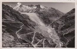 Switzerland Gletsch Grimsel Und Furkastrasse Mit Rhonegletscher Photo - VS Valais