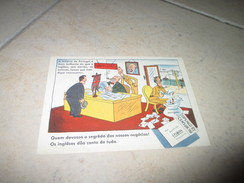 Postcard Carte Postale WWII Guerre Mondiale Winston Churchill UK Great Britain Portugal - Satirical