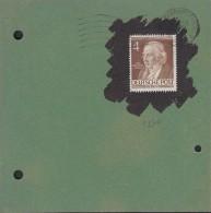 BERLIN 91 EF Auf Briefstück Mit St: Berlin-Charlottenburg ?.7.1953 - Briefe U. Dokumente