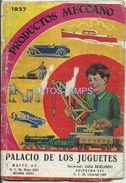 76845 ARGENTINA BS AS PUBLICITY PRODUCTOS MECCANO PALACIO DE LOS JUGUETES LIBRILLO 46 PAG NO POSTAL POSTCARD - Sin Clasificación
