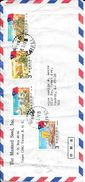 TAIWAN FORMOSE ENVELOPPE CIRCULEE THE MUSTARD SEED INC TAIPEI R.O.C. A TUCSON ARIZONA USA YEAR 1981 - 1945-... Republiek China