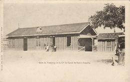 Gare Du Tramway De La Cie Du Canal De Suez à Ismaïlia - Ismailia