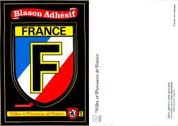 BLason Adhésif Villes Et Provinces De FRANCE - France