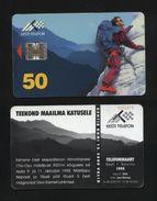 Estonia - 1998 - Co Oyu, Alpinism, 50.000 Issued - Estonia
