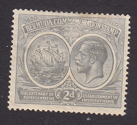 Bermuda, Scott #57, Mint Hinged, Seal Of The Colony And George V, Issued 19120 - Bermudes