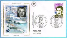 FDC Enveloppe Premier Jour 03/03/1990 PARIS - MAX HYMANS - 1990-1999