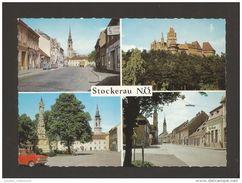 STOCKERAU 1960 YEARS AUSTRIA AUTRICHE MULTI VIEWS POSTCARD - Stockerau