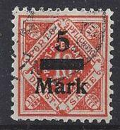 Germany (Wurttemberg) 1922-23 Dienst (o) Mi.159 - Wurttemberg