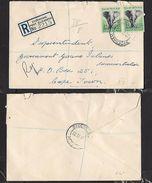S.Africa, Registered Domestic Letter, 8d, SYDENHAM PORT ELIZABETH 22 II 57 > Cape Town - South Africa (...-1961)