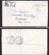 S.Africa, Registered Domestic Letter, 19c Label, , PAROW 12 III 1977 > RONDEBOSCH DEPOT 14 III 77 - South Africa (1961-...)
