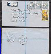 S.Africa, Registered Domestic Letter, 19c  , PORT ELIZABETH 27 VII 79 > RONDEBOSCH DEPOT 29 VII 79 - South Africa (1961-...)