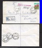 S.Africa, Registered Domestic Letter, 25c, Protea,   ,ALICE 13 XI 80 > DURBANVILLE DEPOT 17 XI 80 > DURBANVILLE 18 XI 80 - Covers & Documents