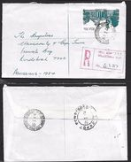 S.Africa, Registered Domestic Letter, 50c, MILL ST CAPE TOWN 20 I 84 > RONDEBOSCH DEPOT 21 I 84 - Covers & Documents