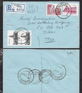 S.Africa, Registered Domestic Letter, 56c, ALGOA PARK 22 V 84 > TOKAI 1984 05 24, MUIZENBERG 1984 05 24 Transit - Covers & Documents