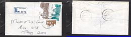 S.Africa, Registered Domestic Letter, 81c, BIRCHLEIGH 1987  > Johannesburg (poor C.d.s.) - Covers & Documents