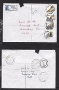 S.Africa, Registered Domestic Letter, 91c, ASTON MANOR 1988 09 08  > HEIDELBERG10 IX 88, GERMISTON Transit - Covers & Documents